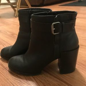 Shoes - Forever 21 black booties, Women's size 10